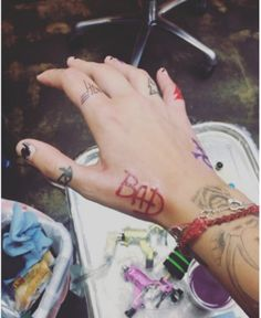 Paris Jackson's Tattoos | Tattoos inspired by Michael Jackson ღ in fans who love him! - by ⊰@carlamartinsmj⊱