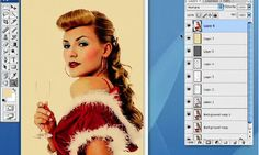 tutorial on how to create vintage/retro effect in photoshop.