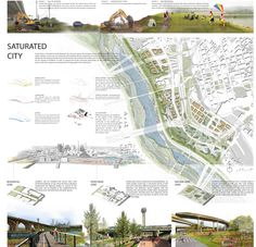 When page is fully loaded use mouse-wheel + ctrl to zoom in and out. Landscape Architecture Drawing, Architecture Panel, Landscape Concept, Landscape Plans, Urban Landscape, Space Architecture, Landscape Design, Project Presentation, Presentation Layout