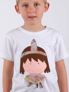 #camiseta #personalizada #diseño #indio