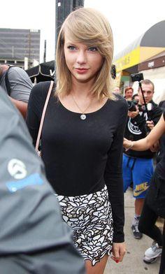 Taylor in LA today 5.8.15