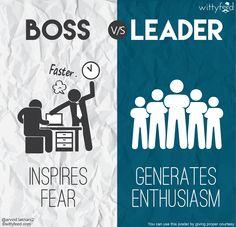 """Führungsqualitäten: Was den """"Boss"""" vom """"Leader"""" unterscheidet : Business Punk"""