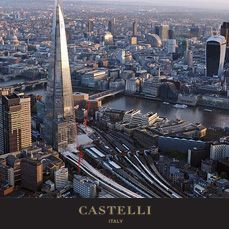 5th July - On this day: Measuring 310 metres, the Shard in London is inaugurated as the tallest building in Europe 2012   (Source: Castelli 2018 corporate diary/2018 diaries feature facts every day)
