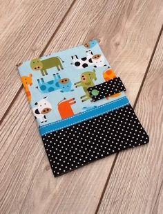 Protege carnet de santé pour bebe.theme vache. : Puériculture par ma-petite-fabrik