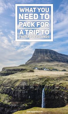 12 Essentials You Need To Pack For A Trip To The Faroe Islands - Hand Luggage Only - Travel, Food & Photography Blog