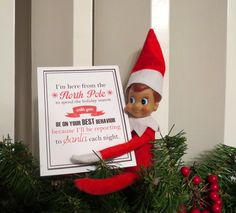 25 Days of Elf on the Shelf Cards