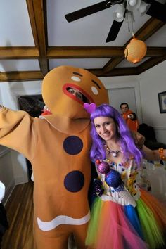 Katy Perry Gingerbread Man Candy Girl Halloween Costume