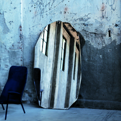 Kooh-I-Noor Mirror by Nanda Vigo