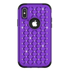 Luxury Bling 360 Phone Case with Screen Protector for iPhone X