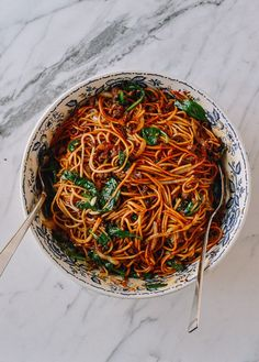 It's an exciting day, here at The Woks of Life. Because today, I have an AWESOME noodle recipe for you guys. We all know how amazing Dan Dan Noodles are. They're the perfect balance of spicy, savory flavors. But as any of you who's seen––or actually managed to tackle––our Dan Dan Noodle recipe knows, it's kind …