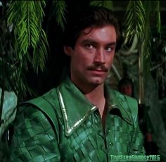 Tim Dalton as the lovely Prince Barin in the 1980 film Flash Gordon