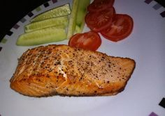 Vajban sült lazac recept foto Salmon Recipes, Fish Recipes, Cake Recipes, Ciabatta, Salmon Burgers, Main Dishes, Seafood, Paleo, Pork