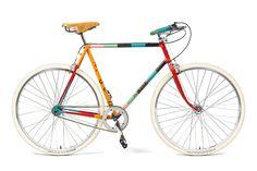 ポール・スミスの限定ストア、伊勢丹新宿店メンズ館に - カラフルなストライプの自転車や腕時計など   ニュース - ファッションプレス