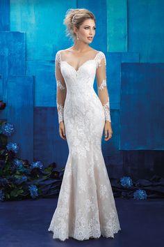 Wedding gown by Allure Bridals.