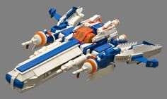 LEGO MOC | Ice Planet 2002 Dart #space
