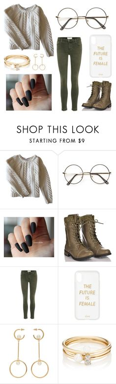 """""""Sweater Weather"""" by ready-for-the-rain ❤ liked on Polyvore featuring Anine Bing, Forever Link, Current/Elliott, Sonix, Chloé and Loren Stewart"""
