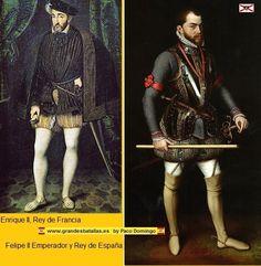 Enrique II y Felipe II. Batalla de San Quintín