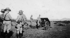 KNIL unit of mountain artillery on manoeuvres. East Indies, Troops, Ww2, Asia, The Unit, Japanese, History, Mountain, Colonial