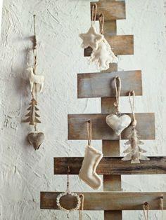 Creative rustic Christmas-tree