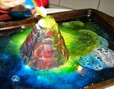 """Making Montessori Ours"": Volcano Activity Day"