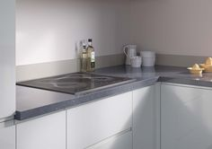 Cosmic Grey - A Cosmic Grey worktop can help bring a dramatic sparkle to a kitchen with its highly realistic quartz effect and dark gloss finish. To order samples of the EGGER decor F181 Cosmic Grey go to: http://www.egger.com/UK_en/decor/?N=4294967265+21&Ntt=Cosmic+Grey