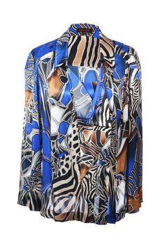 #Escada | Extravagante #Bluse aus 100% Seide, Gr. M | Escada | mymint-shop.com | Ihr #OnlineShop für #Secondhand / #Vintage Designerkleidung & Accessoires bis zu -90% vom Neupreis das ganze Jahr #mymint
