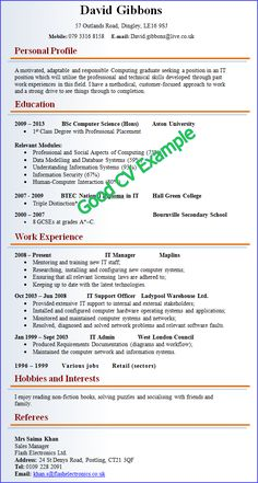 Buffet Attendant Sample Resume Entrancing 49 Best Best Cv Ever Images On Pinterest  Productivity Resume .