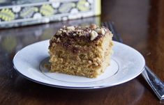 Healthy Cinnamon Crunch Coffee Cake by naturasweetrecipes: No butter, refined sugar or refined flour. #Coffee_Cake #Healthy