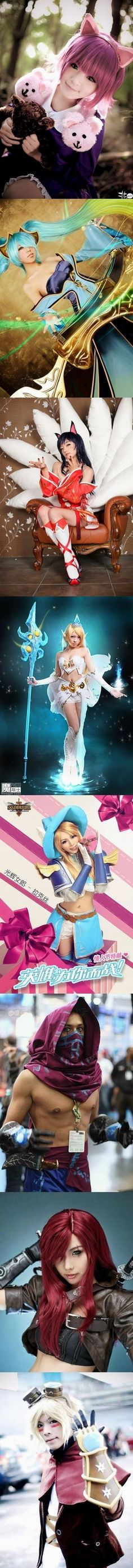Cosplay level: League of Legends