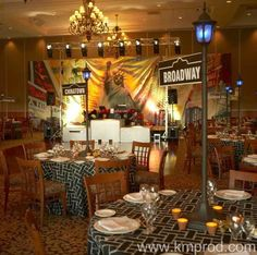 broadway themed centerpieces - Google Search