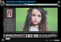 Essentials to Editing in Lightroom. This one hour webinar will help you get comfortable with editing in Lightroom by teaching you necessary . Photoshop Photography, Photography Tutorials, Photography Tips, Lightroom Tutorial, Photoshop Tips, Fotografia Tutorial, Professional Lightroom Presets, Lightroom 4, Camera Hacks