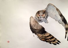 Karl Martens, Eagle Owl II | Cricket Fine Art