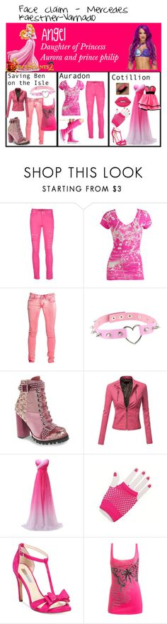 """Angel , Daughter of princess aurora and prince philip"" by mckayequeenboss ❤ liked on Polyvore featuring Disney, Blugirl, Wet Seal, Jeffrey Campbell, Doublju, INC International Concepts and Lime Crime"