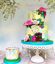 Garden Fairy Door cake - Cake by Ann-Marie Youngblood