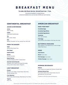 Royal Caribbean shares new fleet wide Room Service menu Breakfast Juice, Hotel Breakfast, Breakfast Menu, Breakfast Ideas, Design Thinking, Apple Menu, Restaurant Branding, Restaurant Restaurant, Hotel Branding