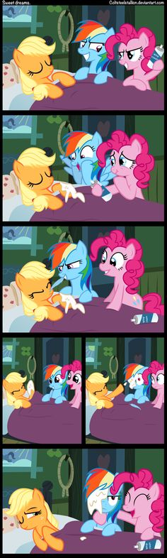 Sweet dreams. by Coltsteelstallion.deviantart.com on @deviantART