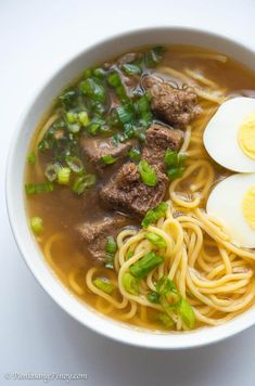 Filipino Soup Recipes, Beef Soup Recipes, Filipino Dishes, Asian Recipes, Cooking Recipes, Noodle Recipes, Asian Foods, Beef Noodle Soup, Beef And Noodles