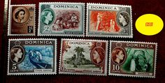 Dominica stamps UMM bright and fresh