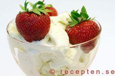 Recept vaniljglass