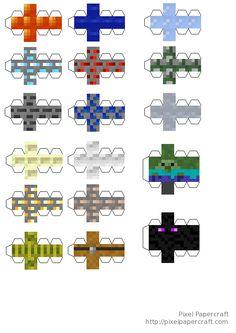 Minecraft More Toys printable