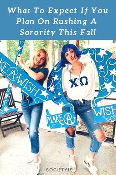 What To Expect If You Plan On Rushing A Sorority This Fall College Trends, College Hacks, College Life, Feeling Rejected, Sorority Rush, Bid Day, Do You Believe, Greek Life, Getting To Know You