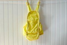 Vintage Romper Yellow Sunsuit Vintage Baby by MyVintageBabyFair, $22.00