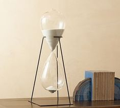 Hourglass Display Object needs to be put on the Dublin Shelves #mypotterybarn