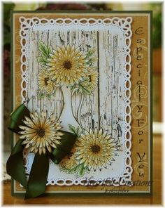 Yellow Delicate Asters Vase by Kathleen Roney