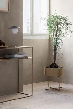 Give your house plant a beautiful home. The Kena Plant Stand will keep your greenery elevated and the lightweight stand can be moved from room to room with ease. Modern Planters, Decor, Ceramic Flower Pots, Plant Design, Balcony Decor, Container Plants, Indoor, Modern Design, Plant Stand