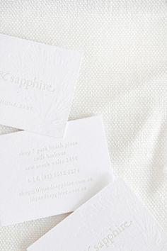 Letterpress - White/Cream