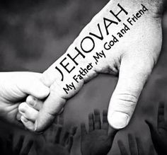 Thank you for being my friend Jehovah. <3
