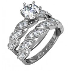 Wedding band engagement ring designed by @cadmaster_3djewelrydesign for our Marketplace