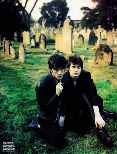 Richey Edwards And Nicky Wire