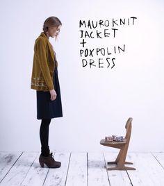 Mauro Knit Jacket // Poxpolin Dress T Dress, Knit Jacket, Woman Style, Womens Fashion, Jackets, Dresses, Home Decor, Style, Down Jackets